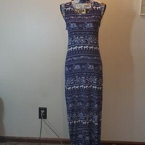 Hot Kiss maxi dress